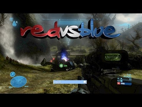 Red vs. Blue in Halo Reach Fire Fight!