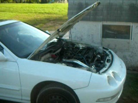 turbo integra blows a rod thru the case
