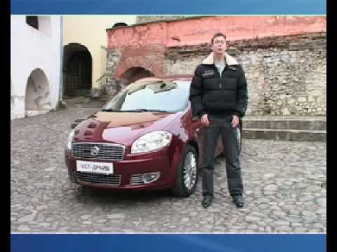 Fiat Linea, тест-драйв