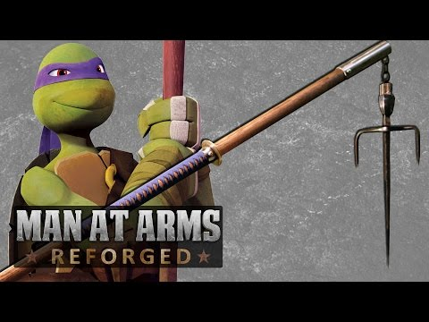 All TMNT Weapons Combined into One - MAN AT ARMS: REFORGED