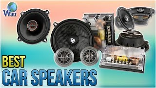 10 Best Car Speakers 2018