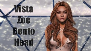 Vista Zoe Female Bento Head in Second Life