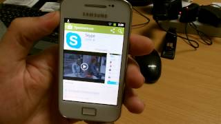 Обзор Samsung Galaxy Ace (реплика), Wi-Fi, Android