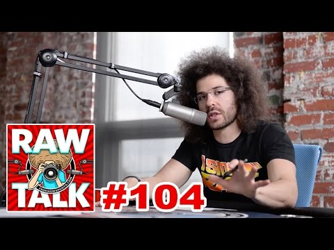 That is the BIGGEST glASS I have ever seen - RAWtalk Episode #104