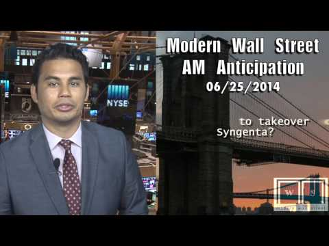 AM Anticipation: Stocks dip, GDP shrinks, Monsanto in focus