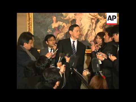 Japan nuclear envoy meets SKor counterparts on six-party talks