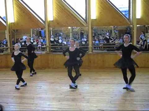 Урок народного танца - видео