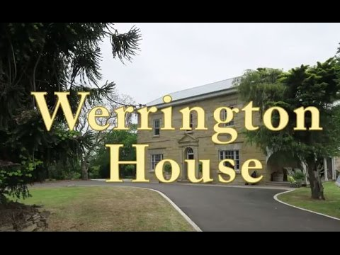 Werrington House, a quick glimpse behind THAT gate