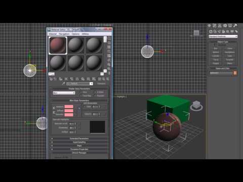 3Ds Max Tutorial - 16 - More on Materials and Maps