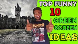 Top 10 Cool Best Green Screen Effects Ideas !
