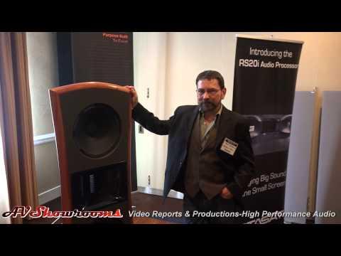 Hawthorne Audio Open Baffle Loudspeakers showing with Core digital amplifiers
