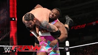 The New Day vs. Sheamus and King Barrett - WWE Tag Team Championship Match: Raw, April 4, 2016