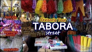TABORA street Divisoria Tour  Bargain District of