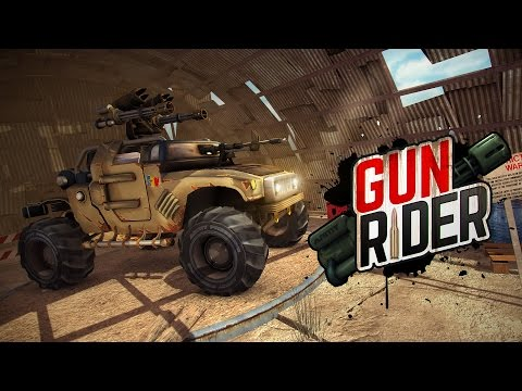 Gun Rider - Racing Shooter APK Cover
