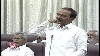 Etela Rajender Vs Shabbir Ali Over Vote On Account Budget   TS Council