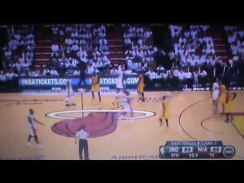 Indiana Pacers Vs Miami Heat Full 4th Quarter Part 2 NBA Eastern Conference Finals 2013 Game 1