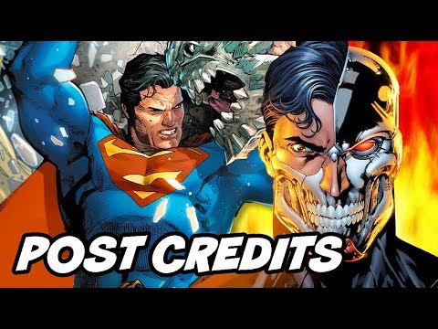 The Death of Superman Post Credit Scene - Reign of The Supermen