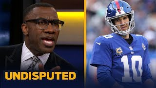 Shannon Sharpe is convinced Giants GM Dave Gettleman's plan will lead to failure | NFL | UNDISPUTED