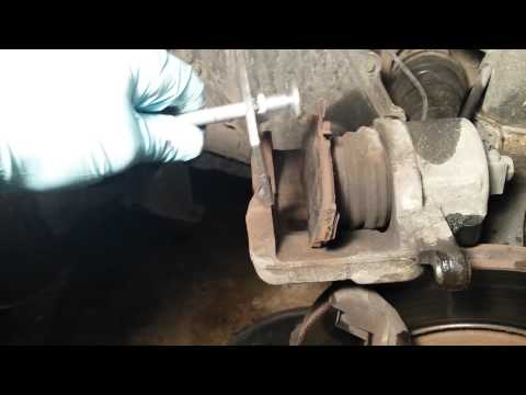 How to Compress the Brake Piston