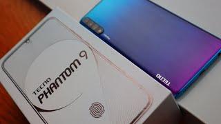 Tecno Phantom 9 Unboxing & First Impression | In-Display Fingerprint Scanner, 6GB Ram 128GB Rom