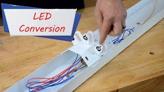 How to easily convert fluorescent Lights to LED –Easy Ways to Save Money