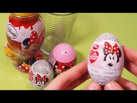 Minnie Mouse Surprise Toys with Drink and Chocolate Egg
