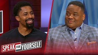 Spencer Dinwiddie on friendship with Kyrie, talks KD & Nets expectations | NBA | SPEAK FOR YOURSELF