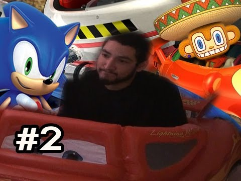 Sonic & SEGA All-Stars Racing w/Car Controller FULL CAM w/Nova Ep.2 - TRIPPY LEVEL