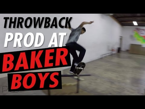 PAUL RODRIGUEZ THROWBACK l BAKER BOYS SESSION