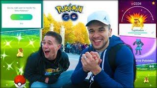 LOSER HAS TO TRANSFER A SHINY POKÉMON! (Pokémon GO)