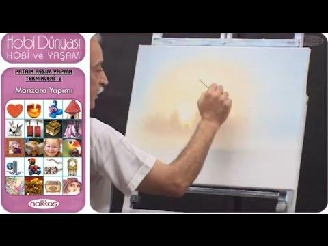 Pratik Resim Yapma Teknikleri 2 - Manzara Yapımı
