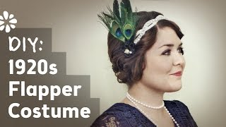 DIY Flapper Halloween Costume | Sea Lemon