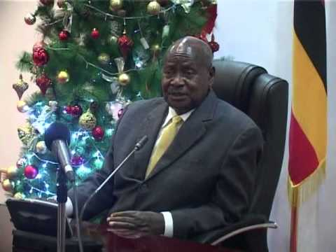 President wishes Ugandans a Merry Christmas