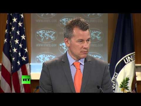 RAW: Reporters hammer State Dept. spox over Ukraine, 'spheres of influence'