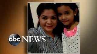 Meet the young girl heard sobbing for separated family