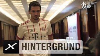 Mats Hummels und Co. posieren im neuen Champions-League-Trikot   FC Bayern München