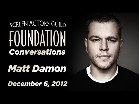 Conversations with Matt Damon