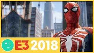 We Played Spider-Man! - Kinda Funny Games Impressions E3 2018