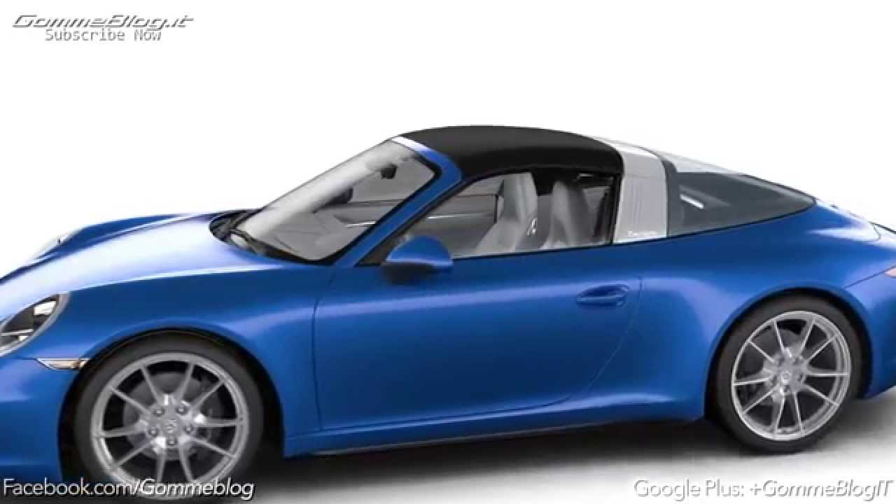 911 Targa Roof Animation 911 Targa Roof Animation