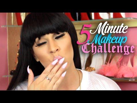 5 Minute Makeup Challenge & Updates!