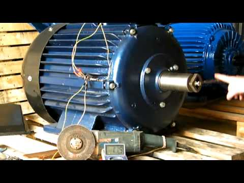 Permanent Magnet Generator 45kw 750rpm - YouTube