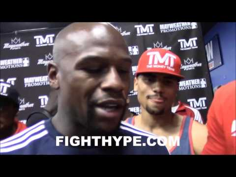 """FLOYD MAYWEATHER CONFIRMS CONOR MCGREGOR FIGHT IS POSSIBLE: """"IT MAY NOT BE A RUMOR"""""""