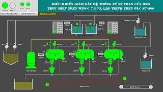 Lập trình hệ thống sản xuất than trên PLC S7300 và giám sát trên WINCC, hệ thống sản xuất than tự đ
