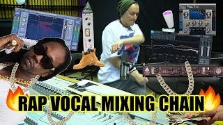 Rap Vocal Mixing Chain - How to Mix Rap Vocals? #AugustynDoesRaps
