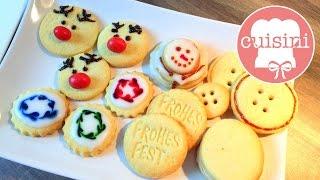 8 KREATIVE Plätzchen IDEEN | Teig für Weihnachtskekse | backen & dekorieren - CUISINI