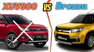 Mahindra XUV300 vs Maruti Suzuki Vitara Brezza 2019|| New XUV300 vs Vitara Brezza | CARTECH