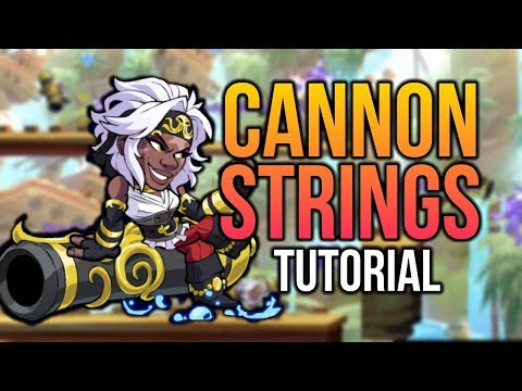 CANNON Strings & Combos Tutorial, Sidra [Brawlhalla Gameplay]