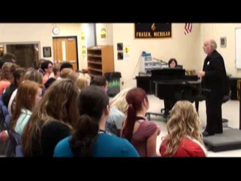 Pasquale Pascaretti, Fraser High School, Fraser Michigan - Part 3 - Grammy Music Educator Award