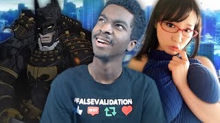 NANI? WHO IS THAT GIRL IN THE THUMBNAIL? BATMAN IS AN ANIME NOW!?