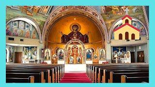 The Greek Orthodox Church in Addis Ababa (Ethiopia)